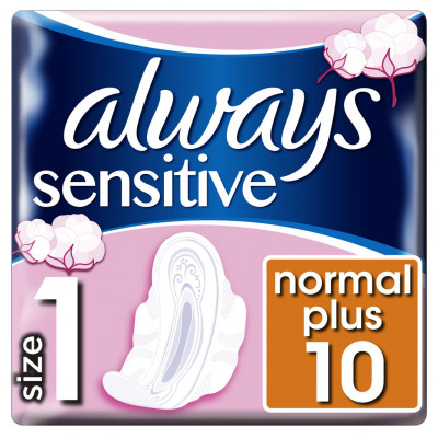 Always Ultra Sensitive Normal Plus 10ks
