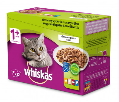 Whiskas 100g MIX 12packs