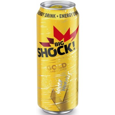 Big Shock 0,5L Gold (6ks)