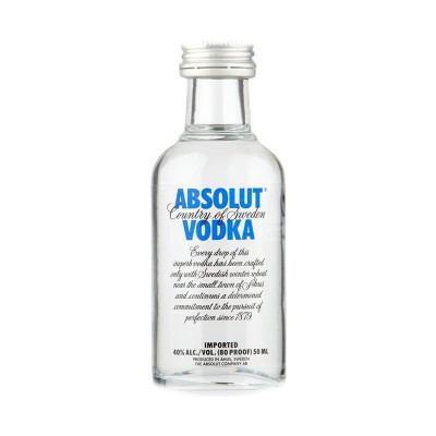 Absolut Vodka 40% 0,05L