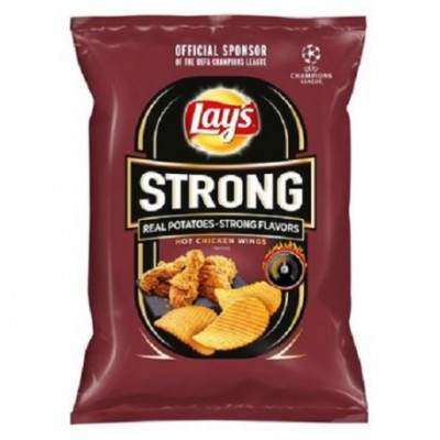 Lays 77g/65g Strong Hot Chicken Wings (14ks)